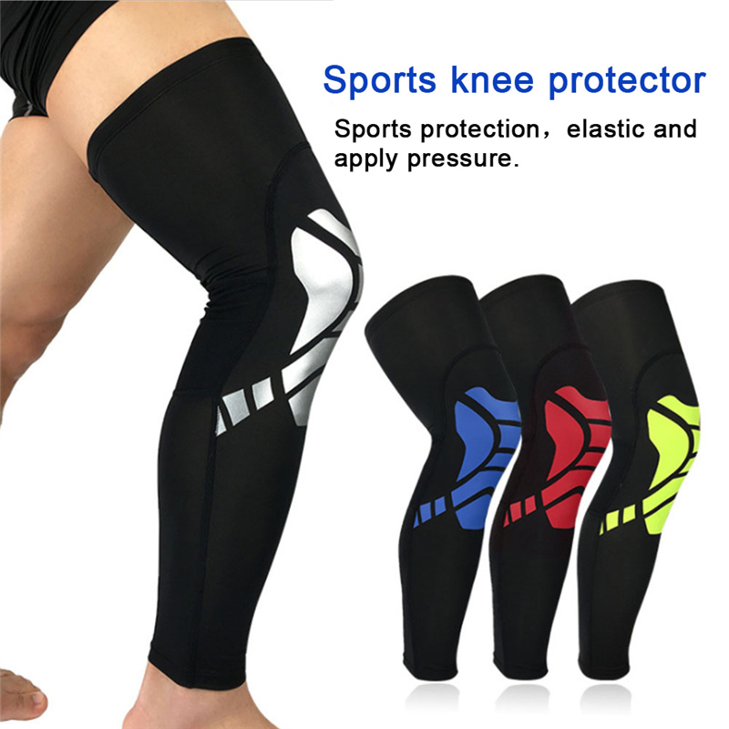 2018 1PCS Protect Leg Calf Support Stretch Sleeve Compression Soft Comfortable Socks for Outdoor Sports Basketball Cycling