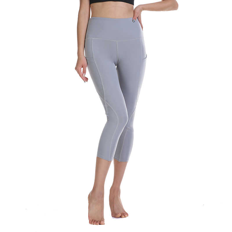 2019 ünlü marka kadın yüksek bel spor tayt kızlar için açık Karın Kontrol pantolon için koşu pantolon spor spor legging