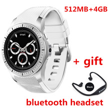 New arrival smart watch GW10 support Bluetooth WiFi 2G/3G 512GB RAM 4GB ROM Android 5.1 Fitness Tracker Heart Rate smartwatch