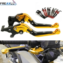 For Ducati S4 2001 2002 2003 2004 2005 2006 Folding Extendable Adjustable CNC Motorbike Motorcycle Brake Clutch Levers gold black cnc adjustable folding extendable motorcycle brake clutch levers for ducati 996 998 b s r 1999 2000 2001 2002 2003