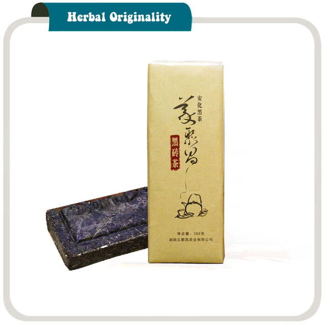 Hunan Anhua Black Brick Tea Slimming Body Health Care 288g