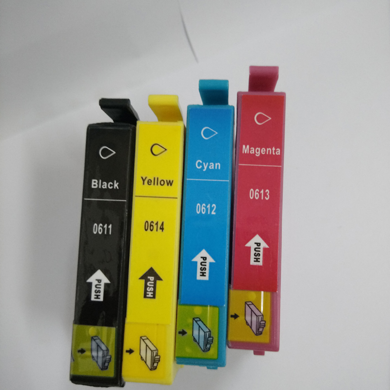 Vilaxh For epson t0611XL compatible ink cartridge for t0611xl t0612xl t0613xl t0614xl stylus D68 D88 D68PE
