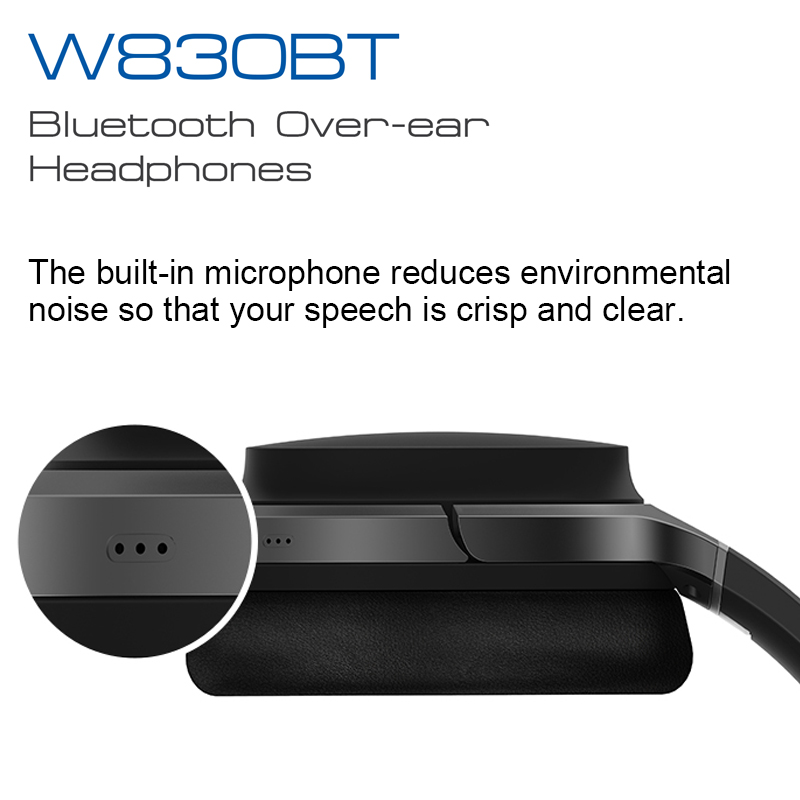 Image 4 - EDIFIER W830BT Wireless Headphones Bluetooth v4.1 wireless earphone aptX codec NFC tech with 95 hours of playback-in Phone Earphones & Headphones from Consumer Electronics