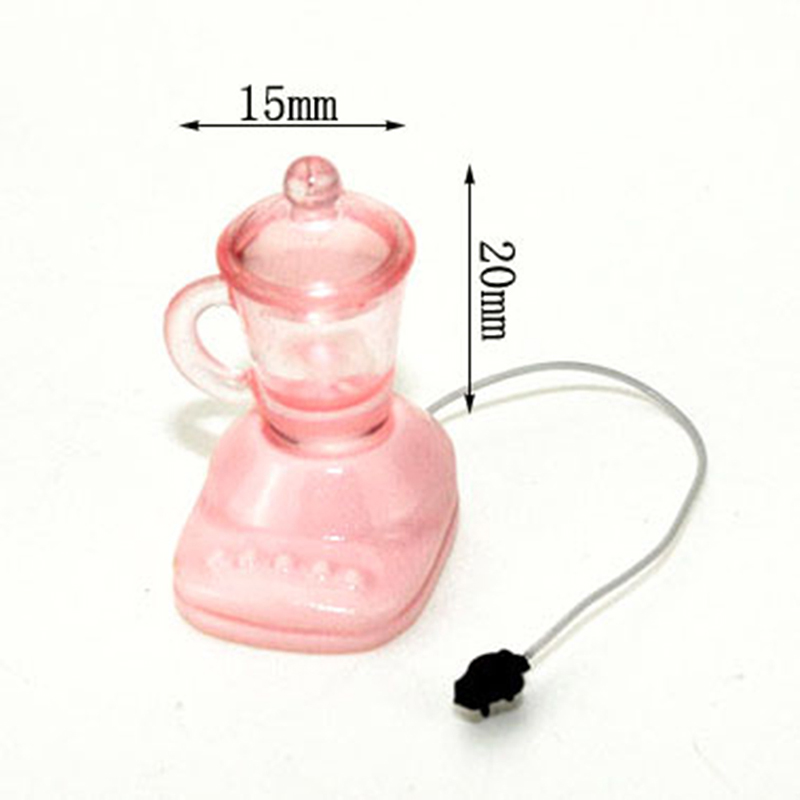 Dollhouse Puppet Miniature 1:12 Electric Appliance Juicer Juice Extractor/Machine Lifestyle Kitchen Toy Accessory