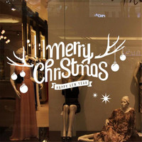 Home Wider Removable DIY Christmas Sticker Mural Home Decal Decor Oct1013 Drop Shipping