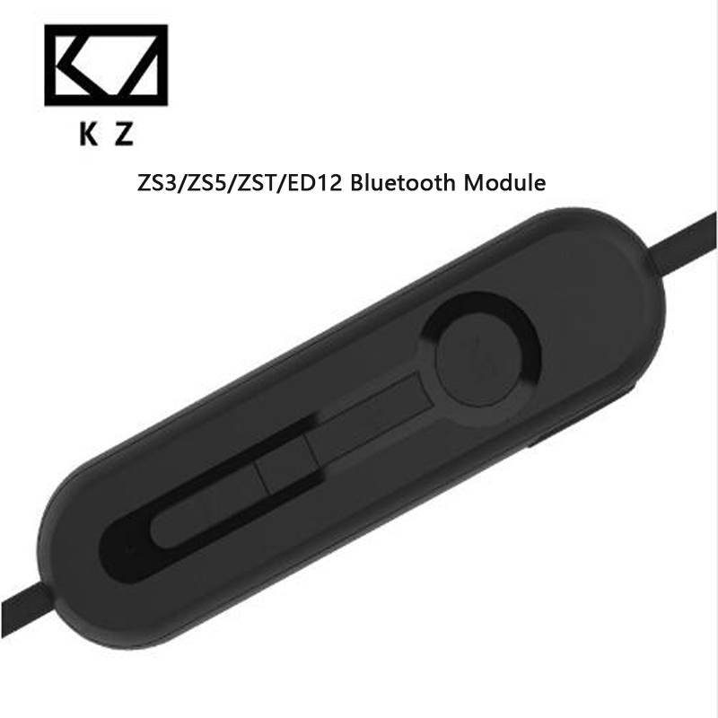 83ea74f51d1 KZ ZST/ZS3/ZS5/ED12 Bluetooth 4.1 Wireless Advanced Upgrade Module  Headphone earphone Cable Upgrade Detachable Cord Applies