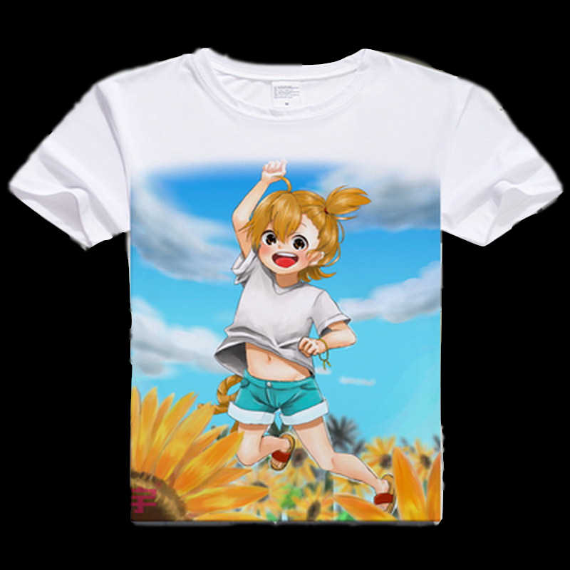 grossiste clair et distinctif caractéristiques exceptionnelles Anime Unisex Tops Tee Barakamon T-shirt Anime Cosplay T shirt Men Tops Tees  Japan Anime Barakamon T Shirt New Printed Cosplay