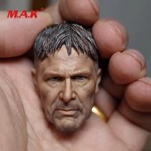 все цены на High Quality 1:6 Scale Harrison Ford Blade Runner 2049 Rick Head Sculpt Carved Model Toys fit 12