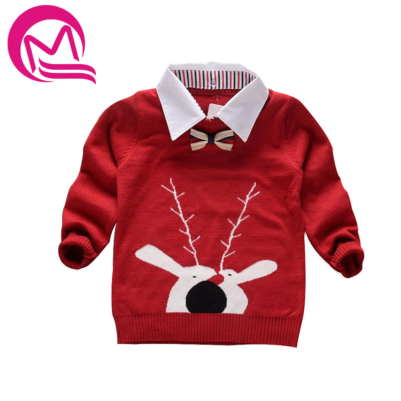 Knitted Sweater for boys 2017 Autumn Winter Boys Sweater Children ...