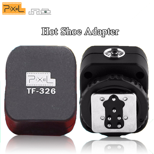 0f94d769da Pixel TF-326 TTL Flash Hot Shoe to PC Sync Adapter For Canon EOS 660d 5d  mark iii ii 60d 70d 650d 550d 7d t3i Canon 580EX