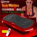 Crazy Fit Vibration Exercise Plate 3D Slim Slimming Machine Electric Whole Body Massage Vibrator Weight Loss Device Burning Fat