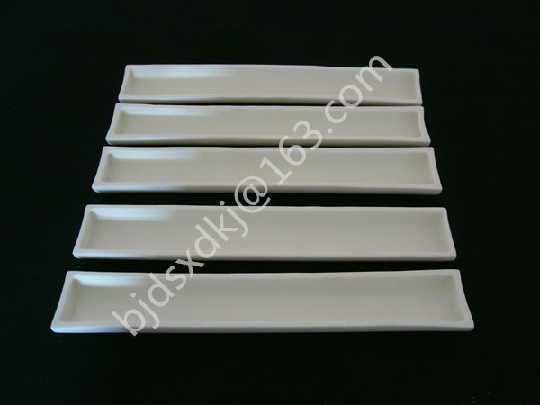 250*40*18mm / 99.3% alumina crucible / Boat / corundum crucible / Al2O3 ceramic crucible / Sintered crucible