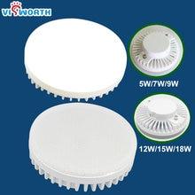 GX53 Led Lamp 5w 7w 9w 12w 15w 18w Spotlight SMD2835 25pcs 44pcs 54pcs Led Light AC 110V 220V 240V Warm Cold White Led Bulb
