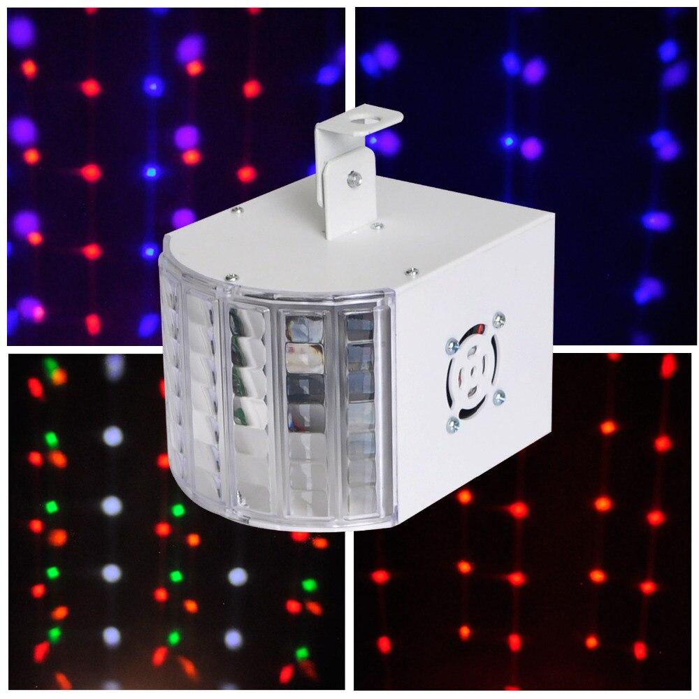 Qy-3525 rgbwop 6 Цвет DMX этап светодиодный свет диско луч эффект бабочки лампа Освещение дешевой цене с хорошее качество ...