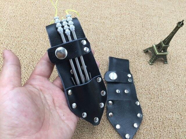 Fishing Darts Bag For Slingshot Outdoors Hunting Fishing Outdoor Tools Fishing Arrrows Broadheads Arrowhead