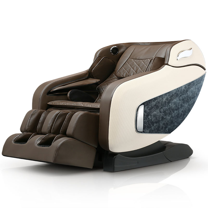 Massage Chair 4D Robot Full Body Automatic SL Track Massager Multifunction Space Capsule Massage Chair With Music