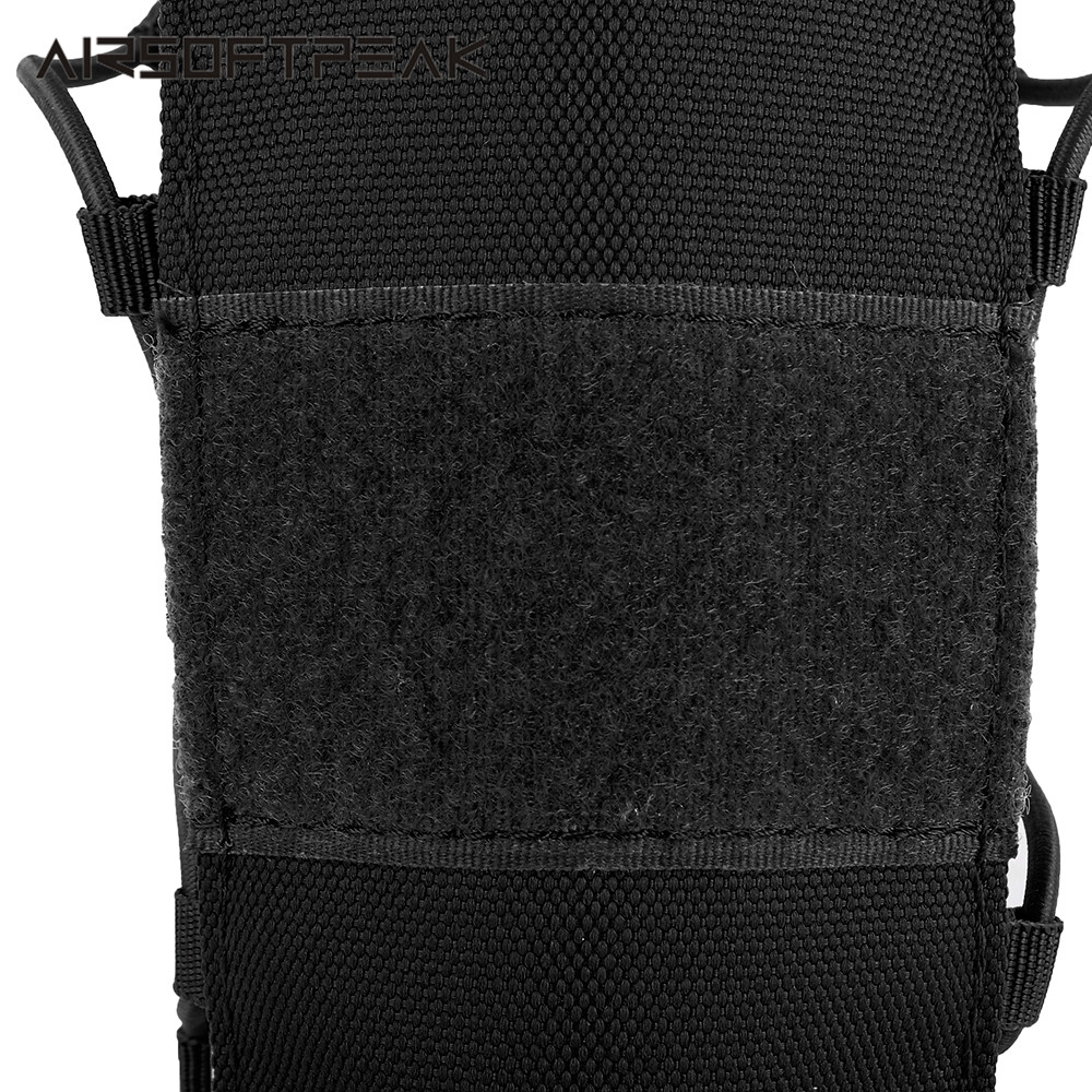 AIRSOFTPEAK Tactical Water Bottle Pouch 1050D Nylon Military Molle Adjustable 2L Water Bags Hunting Camping Hiking Kettle Bag
