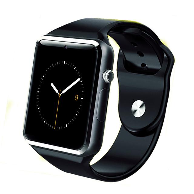 Bluetooth smart watch relógio relógio do esporte relógio de pulso wearable smartwatch para android telefone t5 suporte cartão sim câmera pk a1 dz09