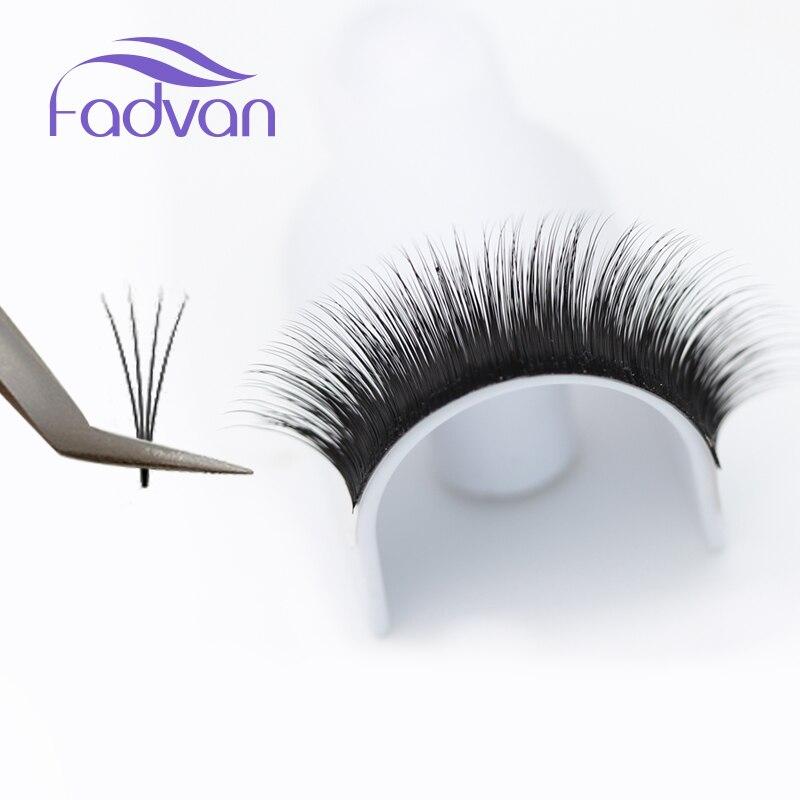 1 Case Flare Eyelashes Extenison Lashes Natural Long Volume Fake
