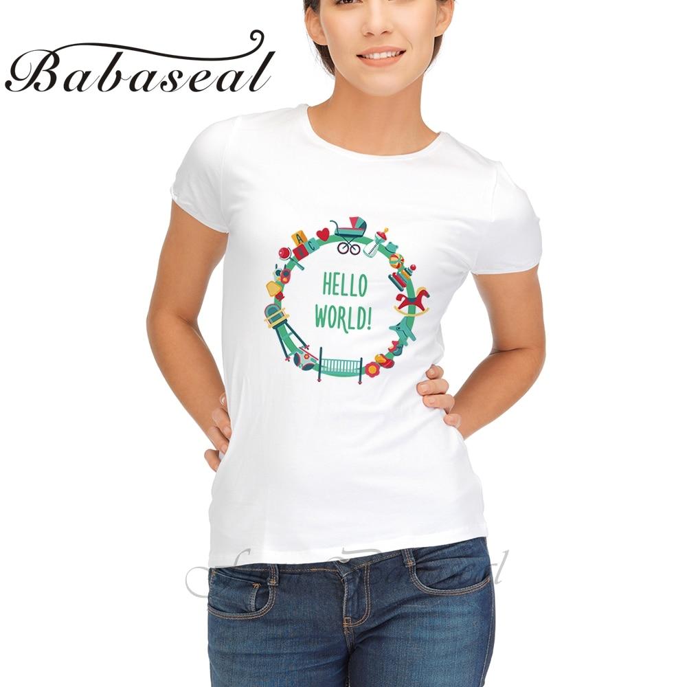List of top bingkai kartu ucapan images - Babaseal Merek Lucu T Shirts Baru Lahir Kartu Ucapan Dengan Putaran Bingkai Baby Shower Punk T