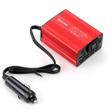 Car Inverters 150W Power Inverte DC 12 V - AC 110V/220 V Car Styling Sine Wave Power Inverter AC DC Converter Adapter JP Plug 12 v dedicated inverter dc 12 v to ac 220 v voltage transformer power converter with dual usb car charger adapter