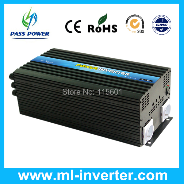 DC12v 24v TO AC110v 220v 230v 4kw Industrial Inverter Used For Many Places Quality And Service