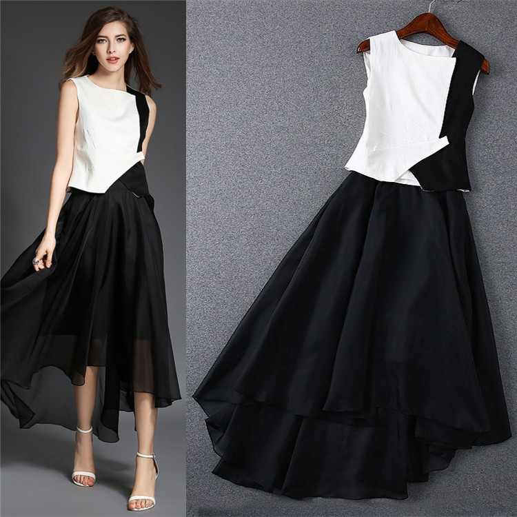 Top And Skirt Formal - Skirts