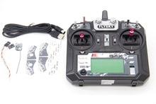 TCMM FlySky FS i6X 2.4 GHZ 10CH التحكم عن بعد ل RC هليكوبتر متعددة الدوار drone
