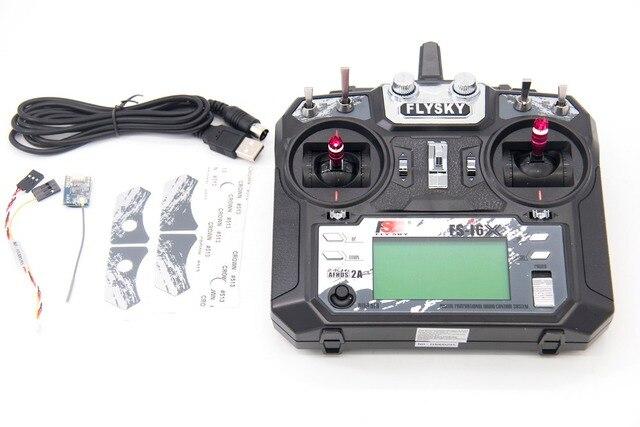 TCMM FlySky FS i6X 2.4 GHZ 10CH pilot zdalnego sterowania dla RC helikopter wielu wirnika drona