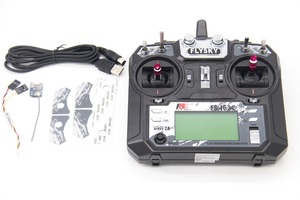 Image 1 - TCMM FlySky FS i6X 2.4GHZ 10CH remote control For RC Helicopter Multi rotor drone