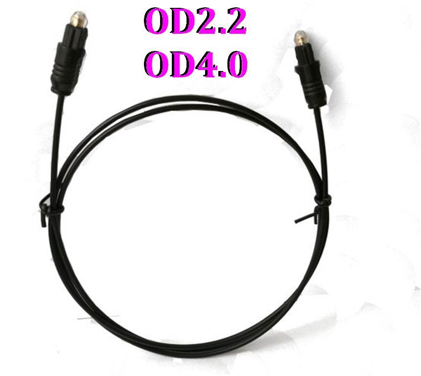 200 ensemble/lot 1 m 1.5 m 1.8 m 2 m 5 m 10 M câble Fiber optique Audio numérique plaqué or Toslink SPDIF cordon de connexion OD2.2 OD4.4mm. on AliExpress - 11.11_Double 11_Singles' Day 1