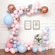 Свадебные арки Макарон латексные шарики для свадебного украшения Арка свадебный душ девичник Вечеринка девушка Декор ко дню рождения Globos