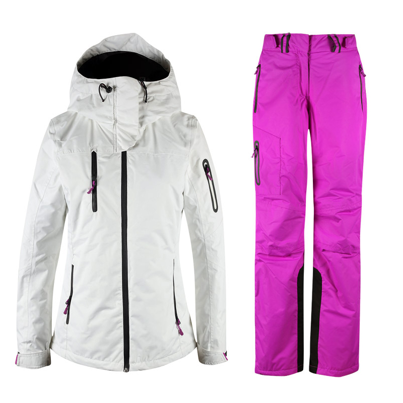 2017 Free shipping Ski Suits Women's jacket+pants Waterproof Windproof Warm Snowboarding Skiing Jackets Sports free shipping the new 2015 men couples snowboarding pants big yards double plate ski pants waterproof and windproof
