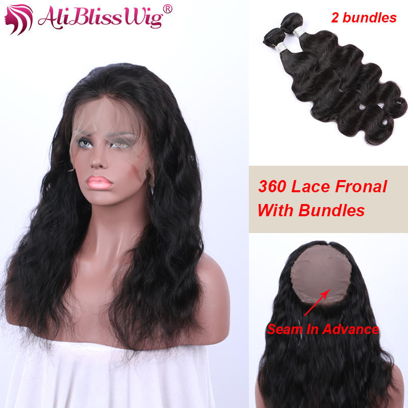 Best 360 Lace Frontal With Bundle Peruvian Body Wave Virgin Hair 2 Bundles  Human Hair Weave 360 Lace Frontal Closure With Bundle on Aliexpress.com  96ea68688
