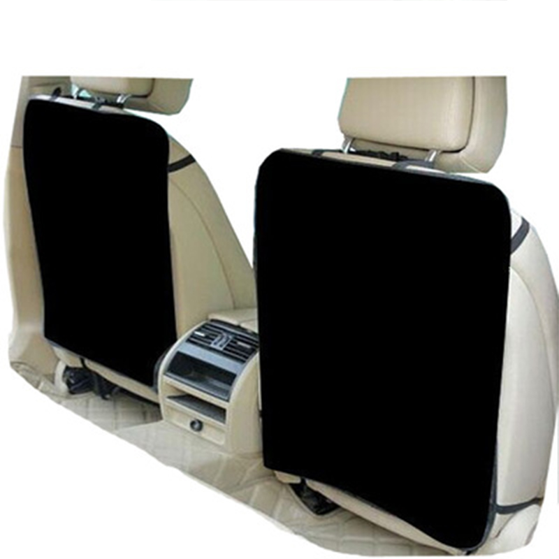 2018 New Universal Car Seat Back Protector Bag Child Kick Guard Mat Protects Storage Automotives