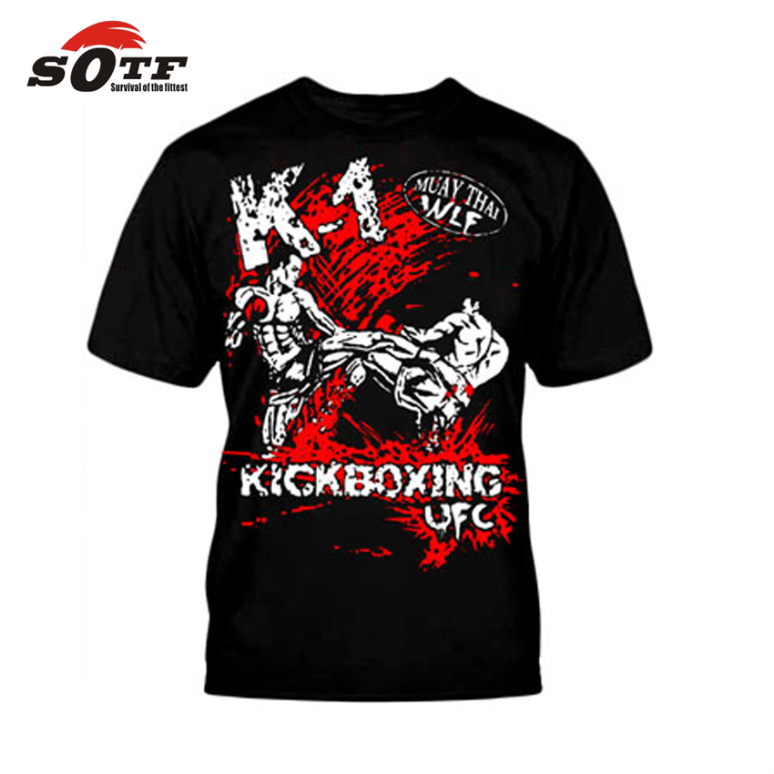SOTF Red Knee Muay Thai Fighting MMA PRACTICAL FIGHTING Training Sweatshirt  Tiger Muay Boxing Shorts For Judo Fight Wear Jaco