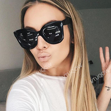 2019 Luxury Brand Cat Eye Women's Sunglasses Fashion Vintage Retro Lady Sunglass Female Sun Glasses For Women modis gafas de sol