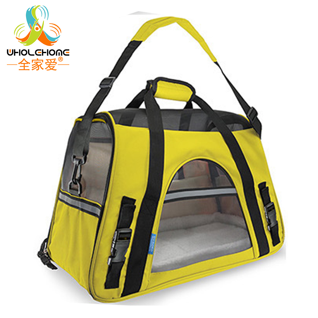 Oxford Breathable Bag for Cats Pet Carrier Dog Designer Carrier Bags for Puppy Medium Transport Carriers