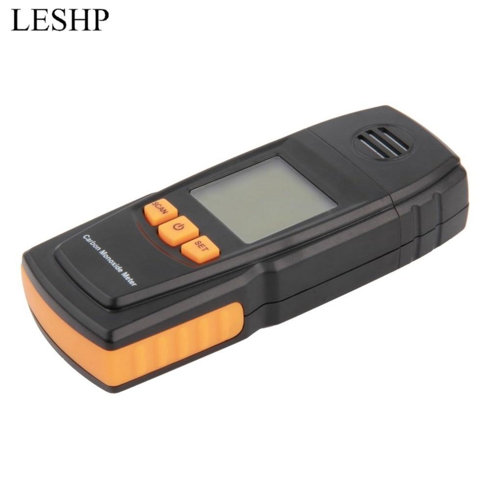 Hand held smart sensor portable CO Gas Detector LCD Digital Carbon Monoxide Handheld Meter CO Gas Tester Detector Meter
