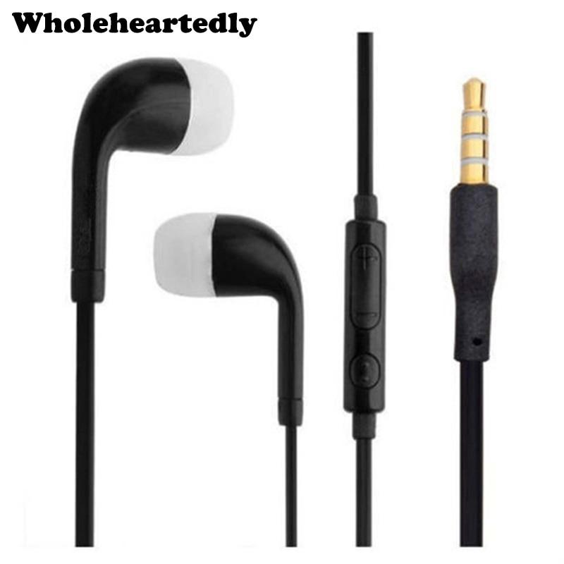 Нов колоритен 3,5 мм стерео слушалки слушалки слушалки силиконови слушалки с микрофон микрофон за мобилни смарт телефон Dropship  t