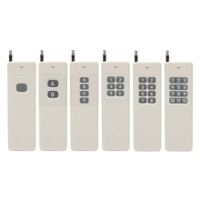 OOTDTY 1/2/4/6/8/12CH RF télécommande émetteur 433 MHz 3000m longue portée haute puissance télécommande