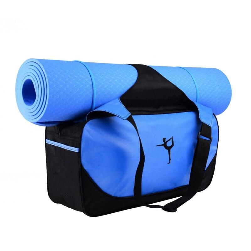Nylon Outdoor Male Mutifunctional Sport Bag  Men And Women Fitness Shoulder Gym Bag Hot Training Female Yoga Duffel Bag Not Mat