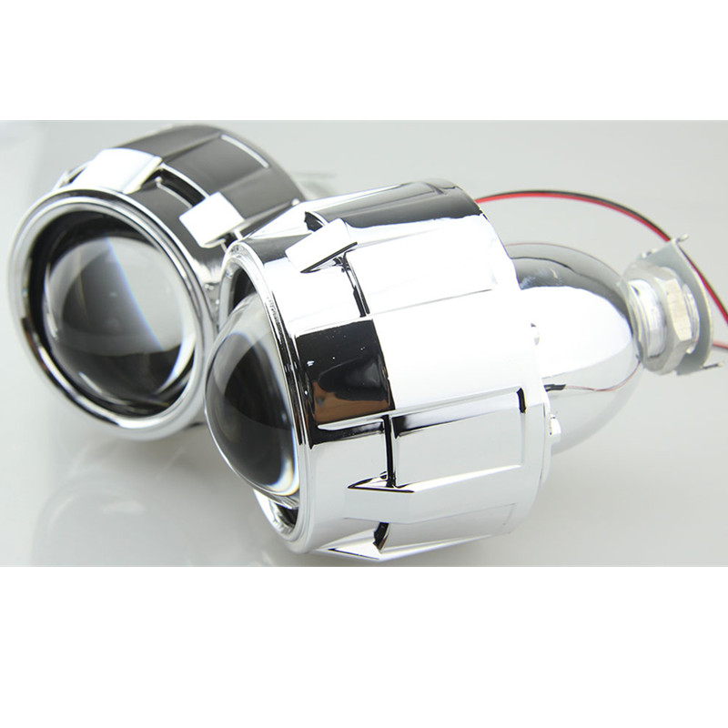 2 5 inch HID Projector Lens H1 Socket HID Bixenon Lens HID Headlight with 2 5