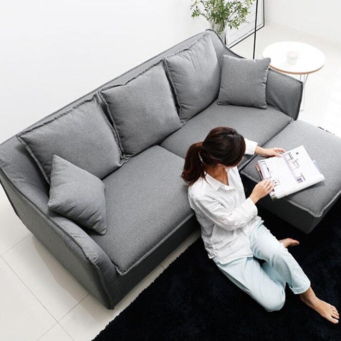 Nordic IKEA living room minimalist modern small apartment washable ...