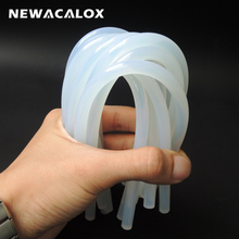NEWACALOX 20Pcs/Lot 7mm X 270mm Hot Melt Glue Sticks for Heat Glue Gun High Viscosity Adhesive Glue Stick Repair Tool Kit DIY