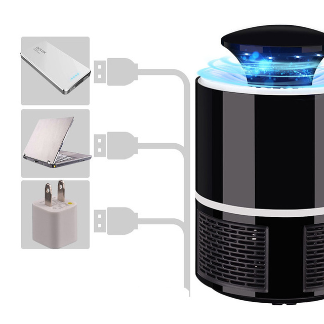 ETONTECK Mosquito killer USB electric mosquito killer Lamp Photocatalysis mute home LED bug zapper insect trap Radiationless 1
