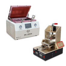 "New 15 "" Oca Vacuum Laminating remover bubble machine + 5 in1 Precision Vacuum Separator Glue Remover LCD Middle Bezel Spliter"