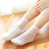 Women S Sports Socks Cotton Lady Business Casual Socks Antibacterial Deodorant Natural B1 11