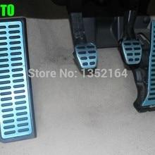 Авто газ педаль акселератора, подножка и педаль тормоза для skoda Octavia, vw golf 6, MT и AT, автомобиль Стайлинг, авто аксессуары
