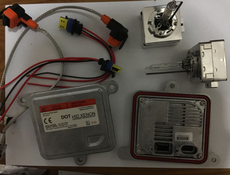 D1S hid xenon kit D1 OS RAM Ballast 3000K 4300K 5000K 6000K 8000K 35W voiture phares ampoules xénon kit pour Original D1S lampe de lumière